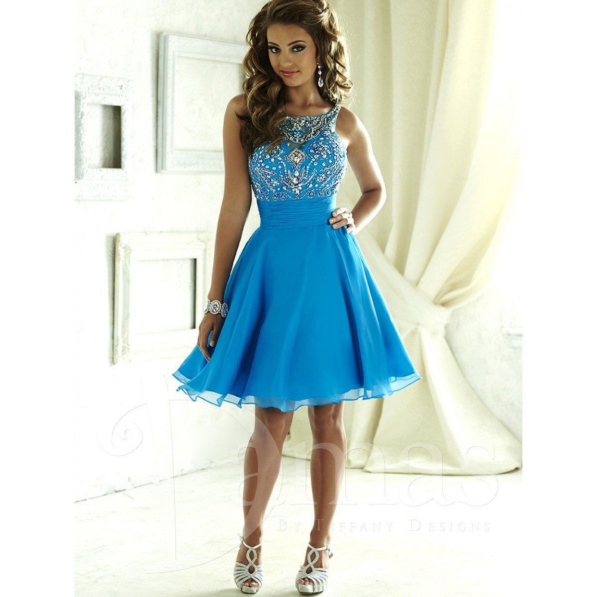 House of Wu Damas 52375 Short Party Dress | MadameBridal.com