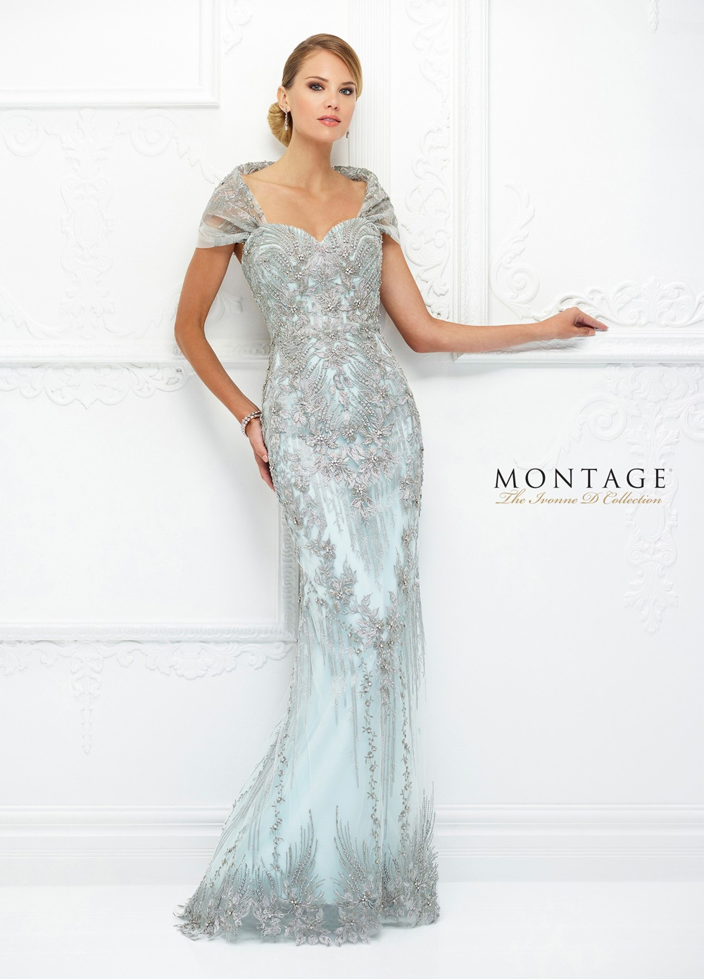 Ivonne D Exclusively For Mon Cheri 118d04 Fitted Evening