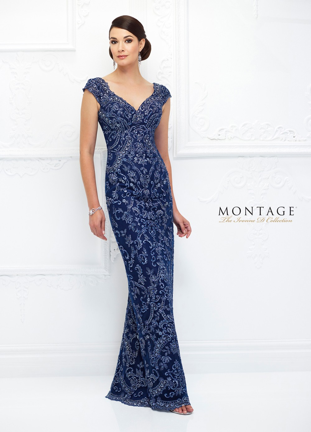 Ivonne D Exclusively For Mon Cheri 118d05 Fitted Evening