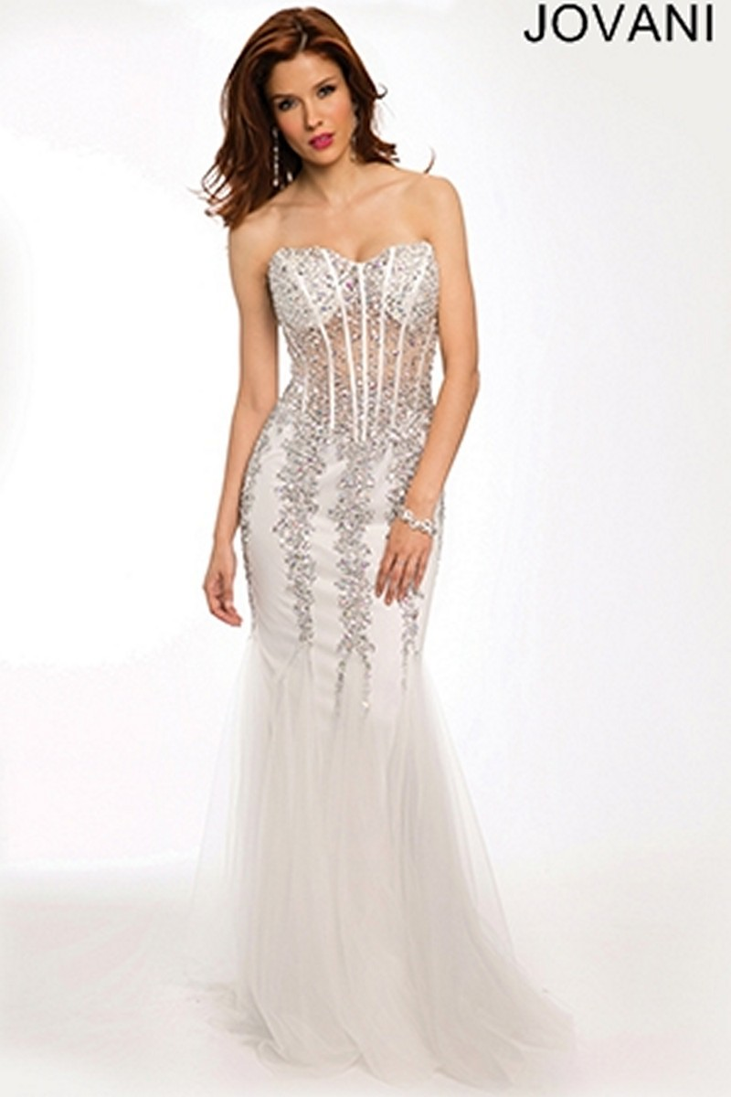 Buy Black jovani mermaid prom dress picture trends