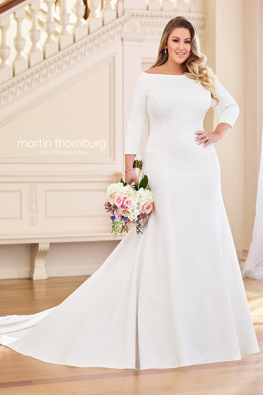 Martin Thornburg 119255w Naomi Dress Madamebridal Com