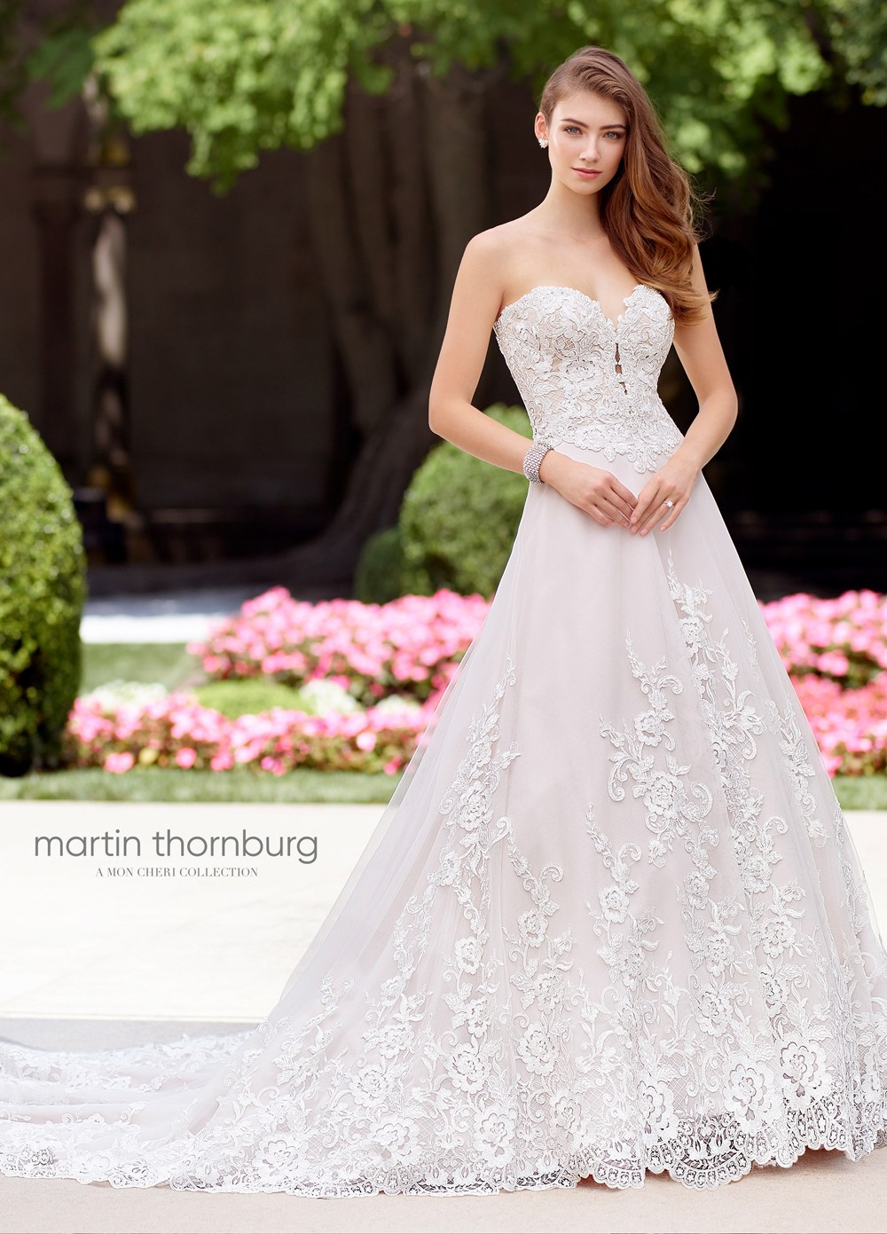 sweetheart wedding dresses martin thornburg for mon cheri 118263 madrigal sweetheart 7871