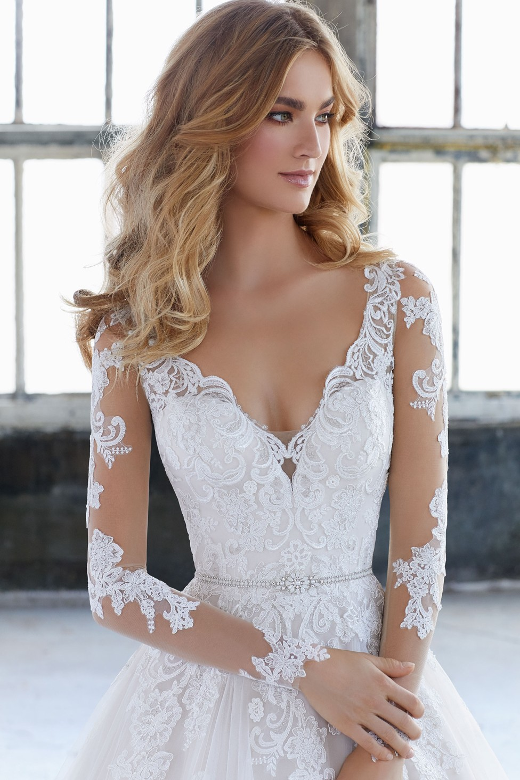 Mori Lee 11282 Wedding Dress Belt Tap To Expand
