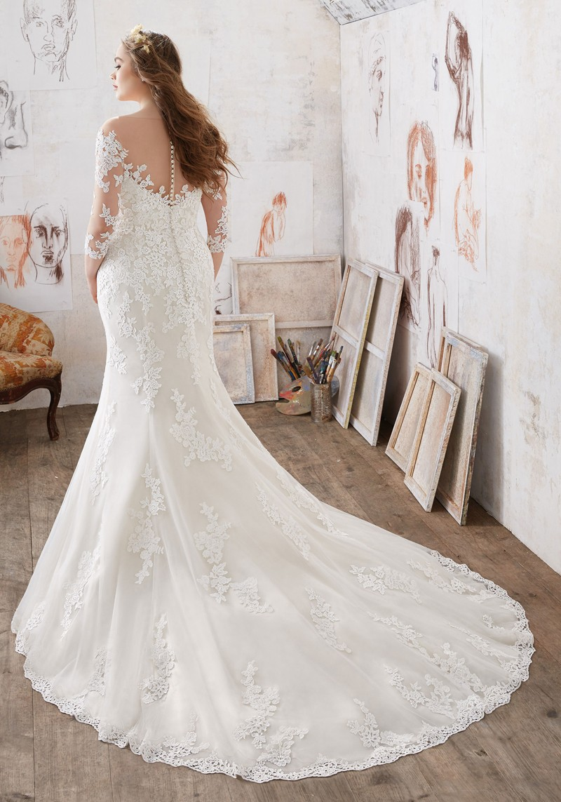Mori Lee 3212 Mia Wedding Dress Madamebridal Com