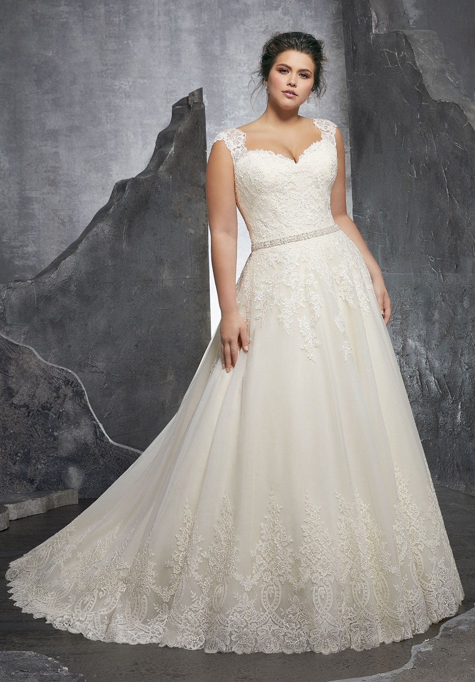 1904a6a951b Mori Lee Kenley Style 3232 Dress - MadameBridal.com
