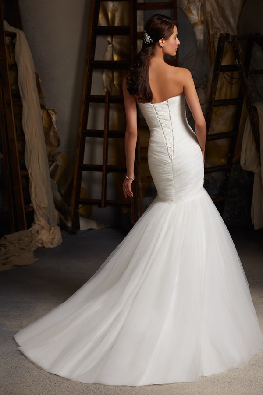Mori Lee 5108 Quick Delivery Wedding Dress | MadameBridal.com