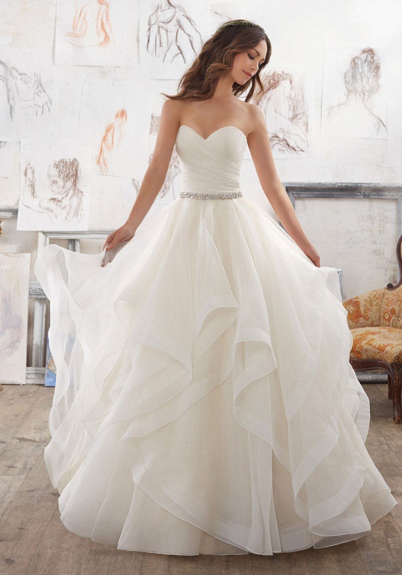 Mori Lee 5504 Marissa Wedding Dress | MadameBridal.com