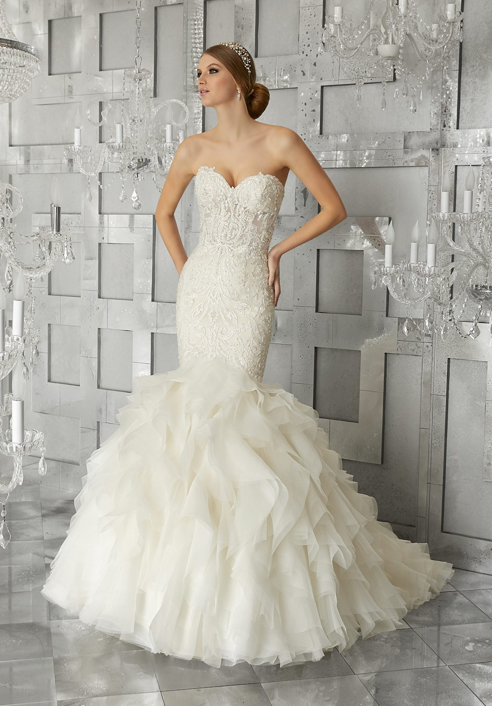 Mori Lee 8177 Muse Wedding Dress