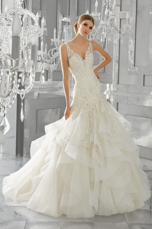 Mori Lee 8195 Mattea Wedding Dress Madamebridal