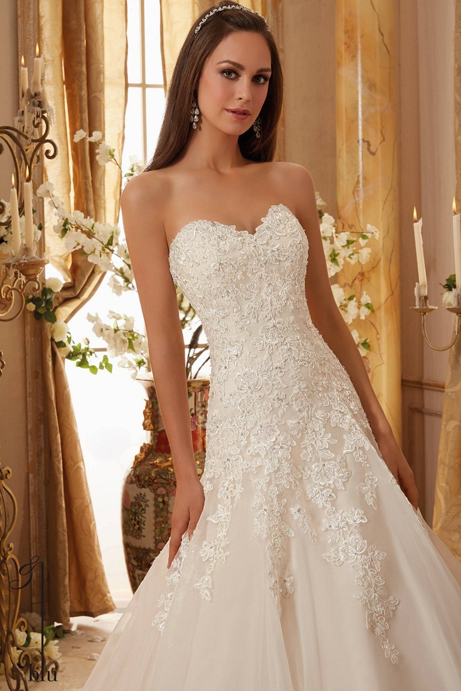 Mori Lee 5470 Wedding Dress | MadameBridal.com