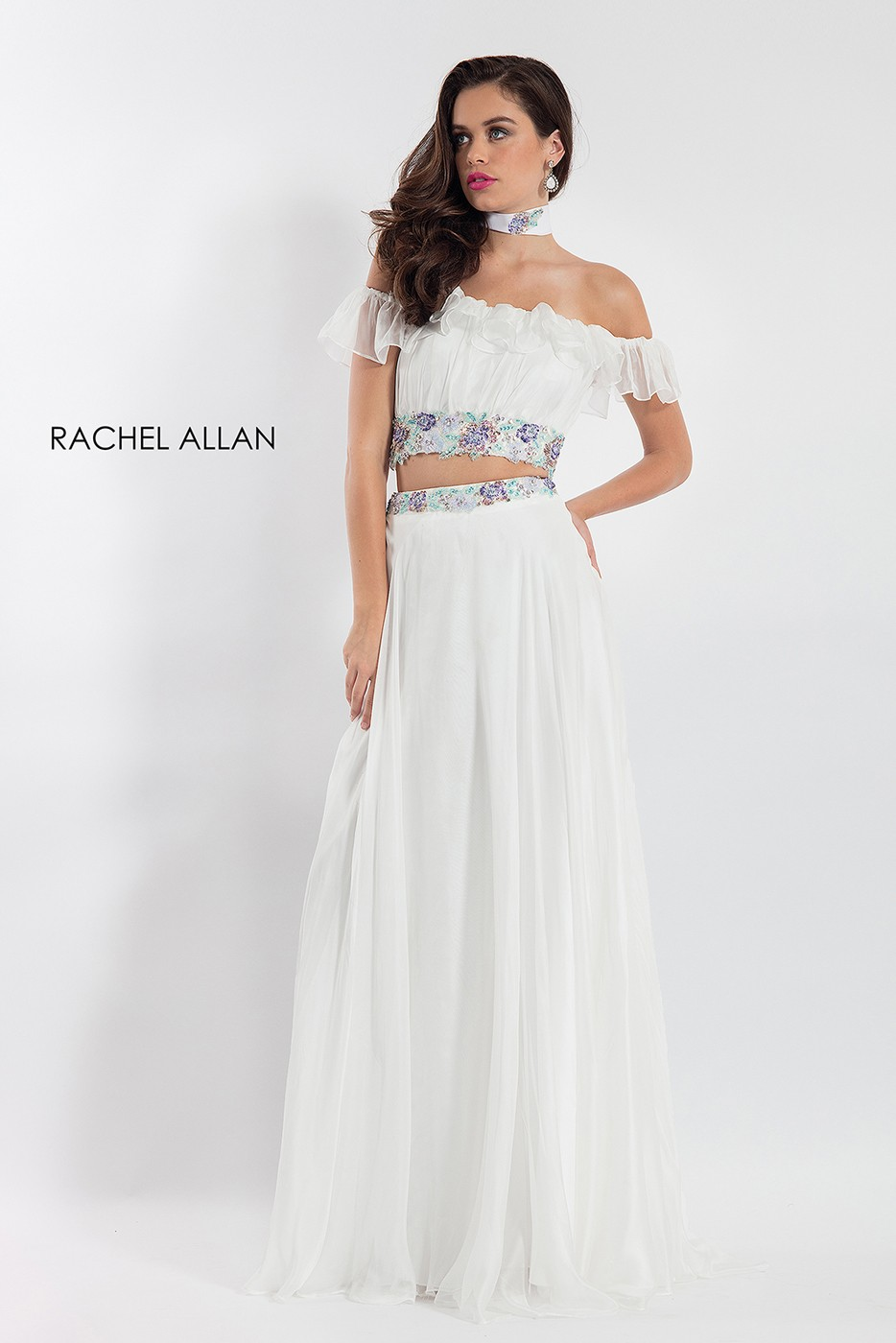 Rachel Allan 6010 Two Piece Prom Dress Madamebridal Com