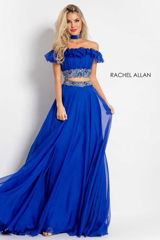 Rachel Allan 6010 Two Piece Prom Dress Madamebridal Com