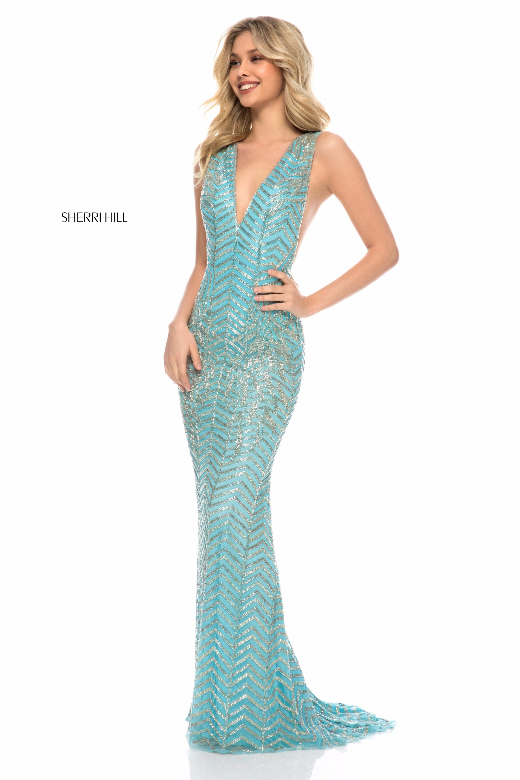 Sherri Hill 51745 Dress - MadameBridal.com