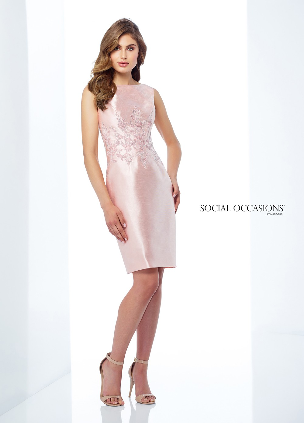 Social Occasions By Mon Cheri 118872 Bateau Neck Mother Of