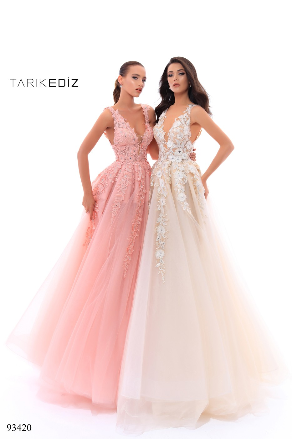 Tarik Ediz 93420 Dress Madamebridal Com