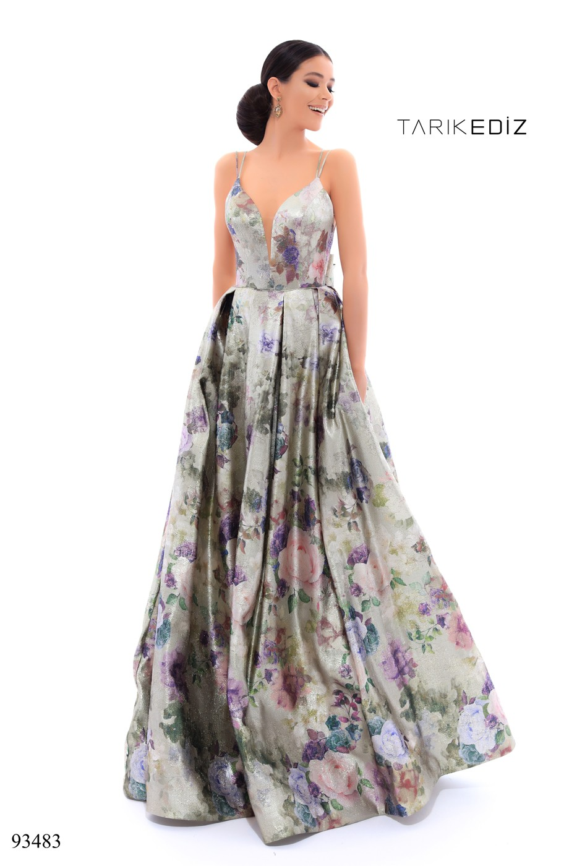 Tarik Ediz 93483 Dress - MadameBridal.com
