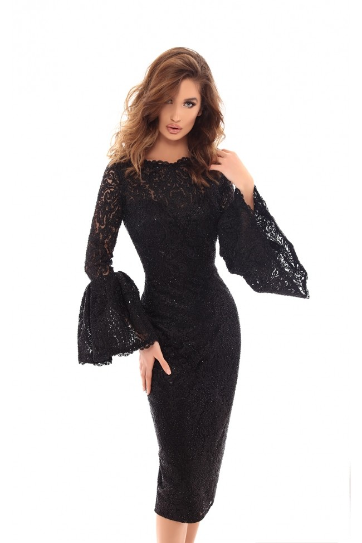 Tarik Ediz 93723 Dress Madamebridal