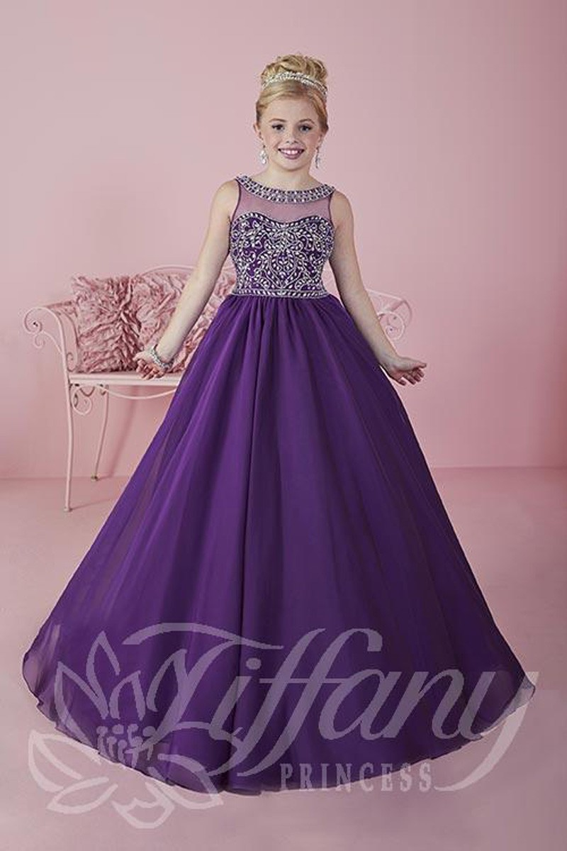 Tiffany Princess 13473 Pageant Dress Madamebridal Com