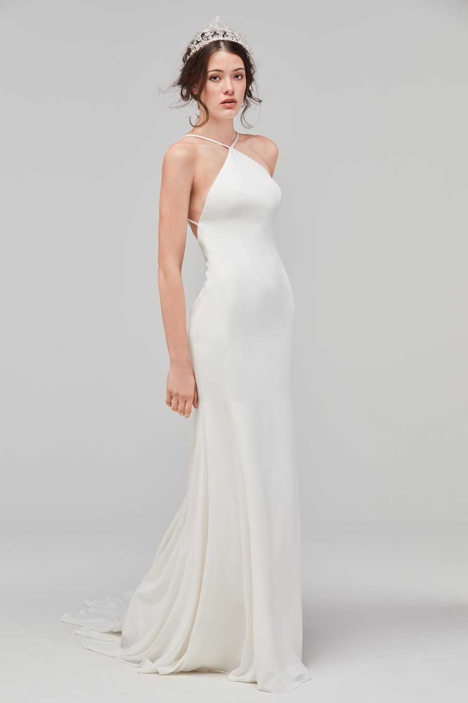 Willowby 59310 Knox High Neck Wedding Dress | MadameBridal.com