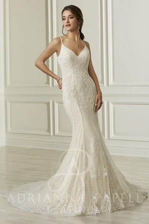 a9ad66b8bf11c Mermaid Wedding Dresses and Trumpet Style Gowns - MadameBridal