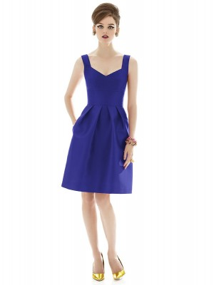 Alfred Sung D658 Quick Delivery Bridesmaid Dress