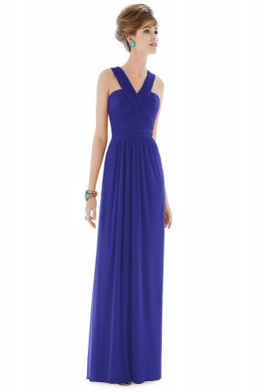 Alfred Sung D678 Bridesmaid Dress