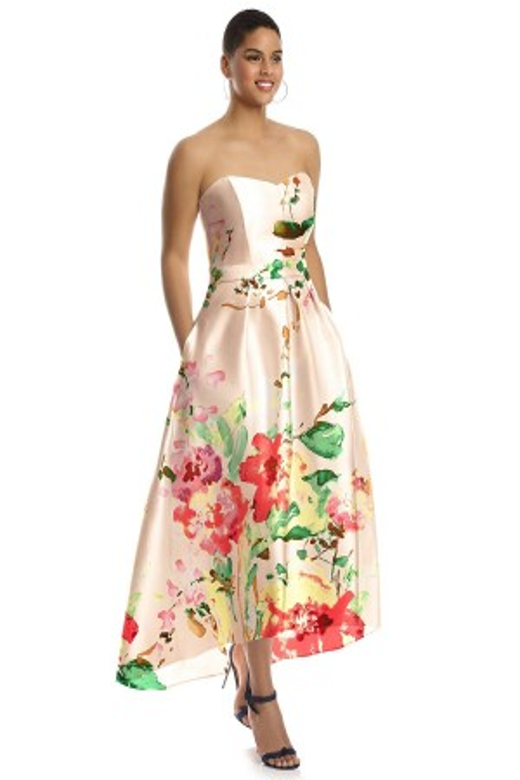 Alfred Sung D699FP Bridesmaid Dress