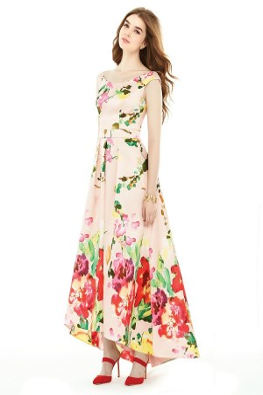 Alfred Sung D722FP Bridesmaid Dress