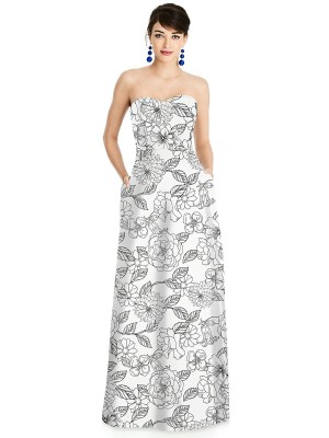 Alfred Sung - Dress Style D748FP