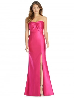 Alfred Sung D762 Strapless Sweetheart Neck Bridesmaid Dress
