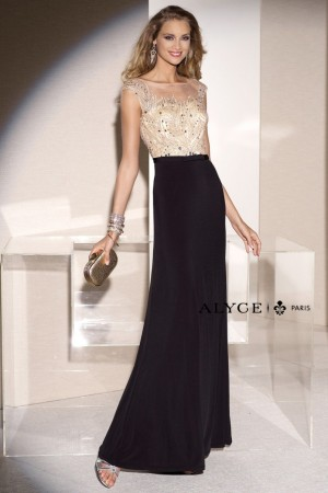Alyce 5685 in Black/Champagne