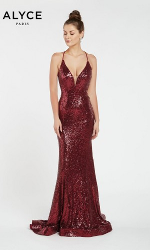 1c17cea7088 Alyce Paris 1387 Open Back Prom Dress