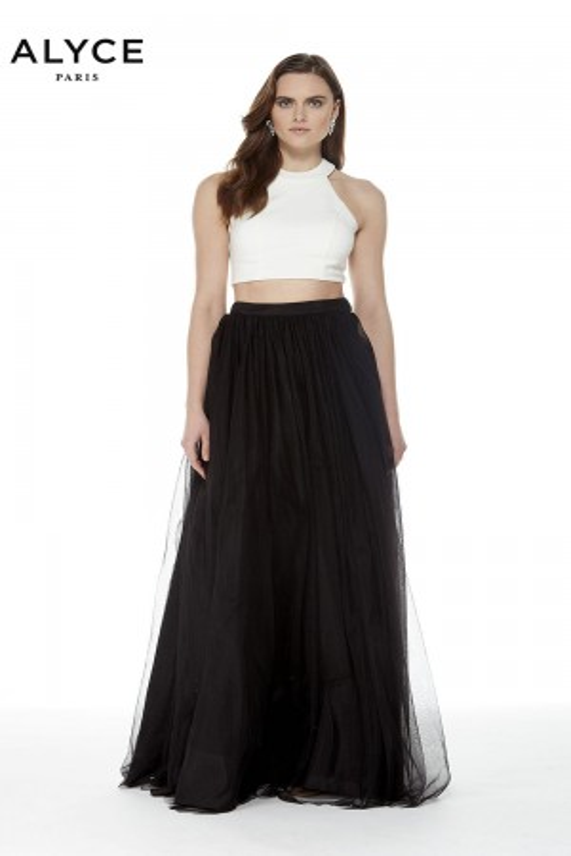 Alyce Paris 22250 Cutout Back Two Piece Formal Dress