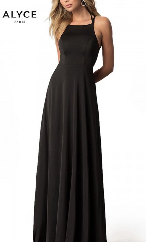 Alyce Paris 22251 Lace-Up Back Formal Gown
