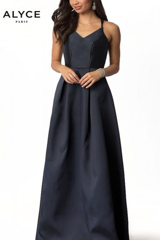 Alyce Paris 22262 Double Strap Long Party Dress
