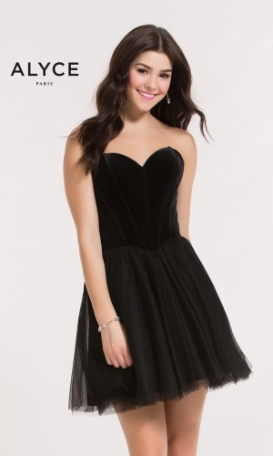 Alyce Paris 2635 Homecoming Dress