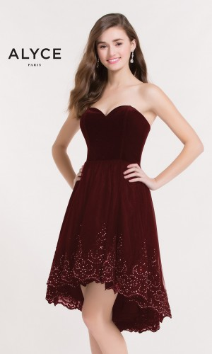 Alyce Paris 2636 Homecoming Dress