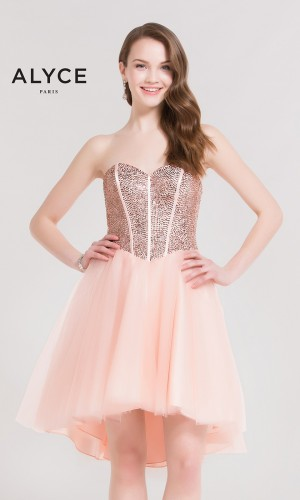 Alyce Paris 2641 Homecoming Dress