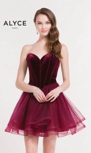 Alyce Paris 2643 Homecoming Dress