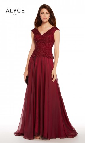 Alyce Paris 27232 V-Neck Evening Gown