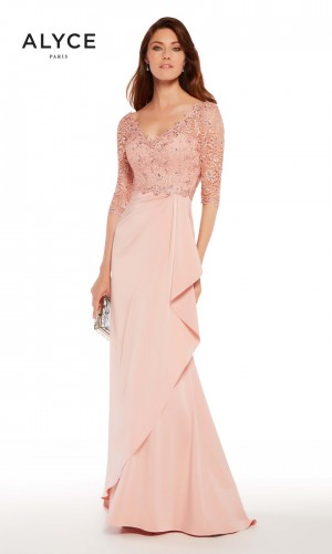 Alyce Paris 27242 Wrap Skirt Formal Gown
