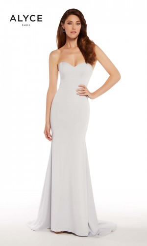 Alyce Paris 27252 Off-The-Shoulder Evening Gown