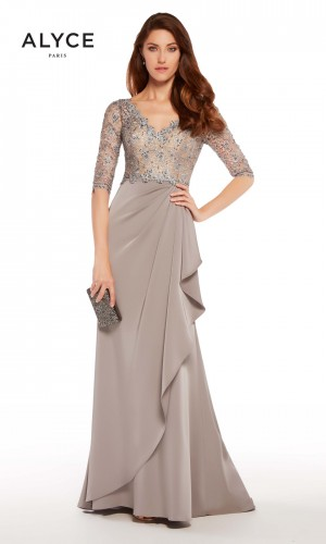 Alyce Paris 27260 V-Neck Formal Gown