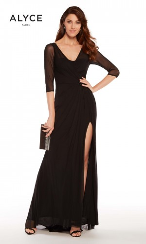 Alyce Paris 27267 Slit Skirt Evening Dress