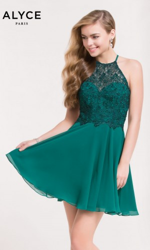 Short Prom Dresses by Alyce