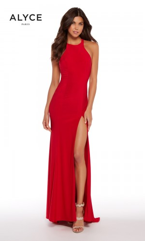 Alyce Paris 599961 Criss-Cross Back Prom Gown