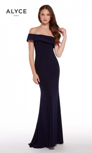 Alyce Paris 59997 One-Shoulder Prom Dress