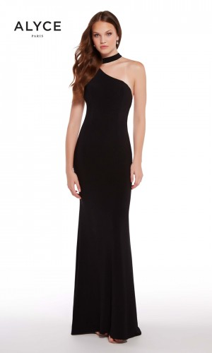 Alyce Paris 59998 Choker-Neck Prom Dress