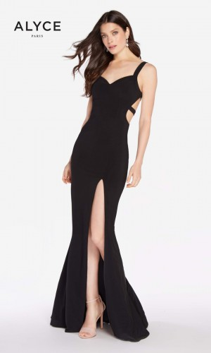 Alyce Paris 60000 Strappy Back Long Party Dress