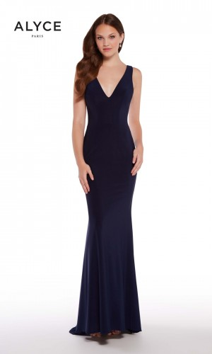 Alyce Paris 60009-A V-Neck Formal Gown